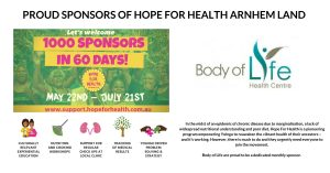 Hope for Health Arnhem Land - Body of Life Frenchs Forest