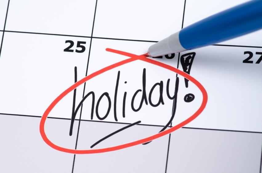 Time to Take a Holiday?