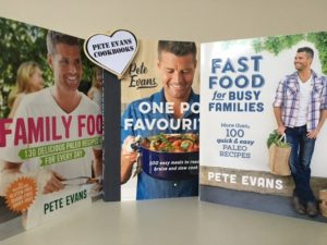 Pete Evans Cook Books - $39.95