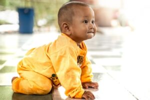 Movement and milestones: What to expect in your baby's first year